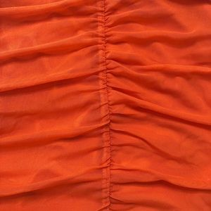 NBD Skirts - Sydel Mini Skirt Poppy Orange